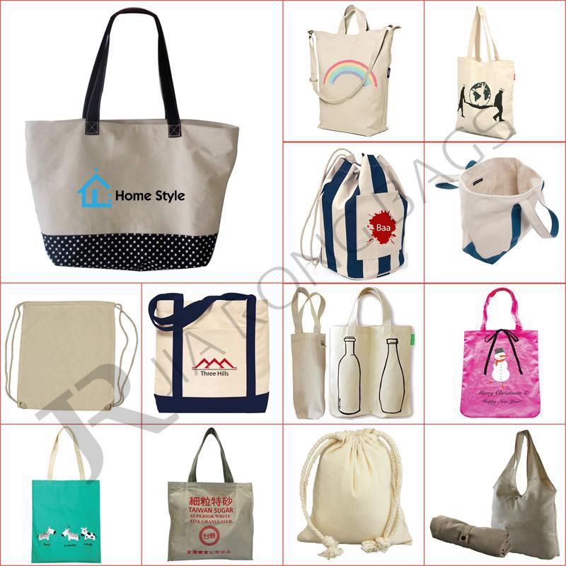 Leisure fashion Canvas shopping bag Canvas tote bag