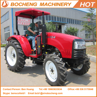 Enfly Brand 55HP 4WD DQ554 High Quality Agricultural Farming Wheel Tractor