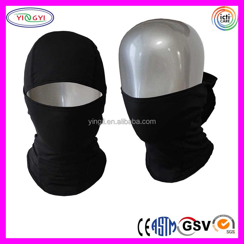 C130 Thin Multi Functional Balaclava Face Mask Spandex Beanie Light Spandex Mask