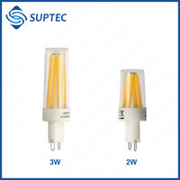 FREE SAMPLE Hot Sale CE RoHS Dimmable Mini Filament LED Light G9 Lamp LED Bulb 2W 3W High Lumen 100LM/W Alibaba Express