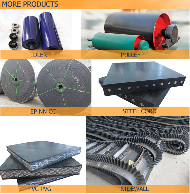 flame resistant K2 grade steel cord conveyor belt ST1600