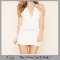 Mini Washable Feature and Casual Dresses high level fabric lady short dress trendy brand clothing