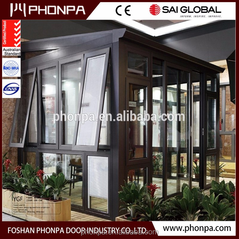 Energy efficient construction low-e glass sunrooms