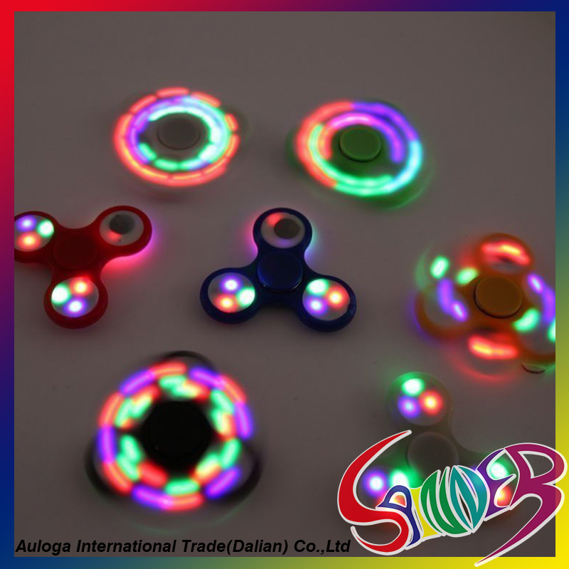 Hot selling light spinner toy every day carry cheap bulk spinner