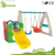 Wholesale slide playset baby swing Kids use kids swing and slide kids indoor slide