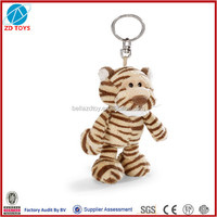 promotional plush stuffed keyring toy