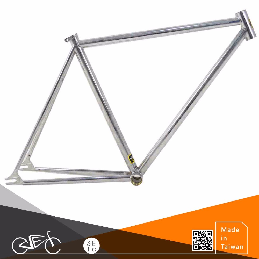 Taiwan 700C Classic Bike Frame Chrome paint bicycle frame set, View ...