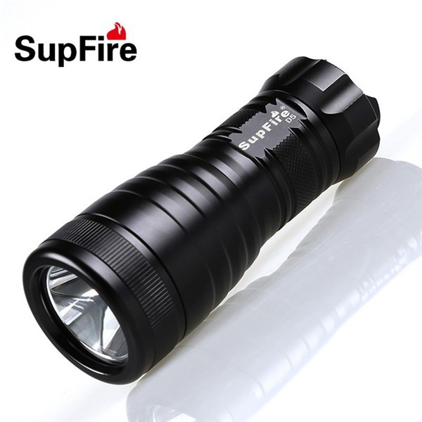 Dry Battery 3*AA Batetry Diving Flashlight