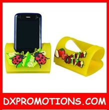 2D or 3D soft pvc phone stand/cellphone holder,is lovely!!!