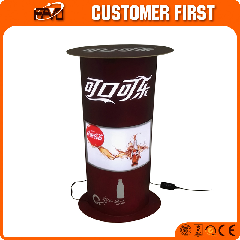 Photo Booth Watch Display Stand Light Box Aluminum Advertising Display