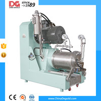 pin type 5/10l pigment grinding bead mill machine