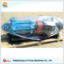 High head used irrigation multi stage water pumps with electric motor