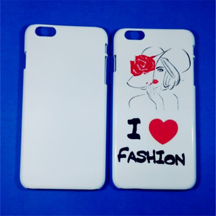 JESOY Heat Transfer Sublimation Cover Case for iPhone 4 5 6 6plus 6s Case 3D Blanks