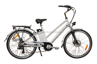 26inch aluminium alloy 36v electric bike battery 250w geared hub motor with high quantity and low step city bicycle