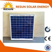 A-grade& high efficiency 15W poly solar panel solar panel price in india is lowest with TUV CE certificate