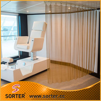 fashionable metal mesh wire woven space partitions for office decor