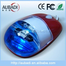 Wired Gift Aqua Mouse Computer hardware With different kinds of cute floaters