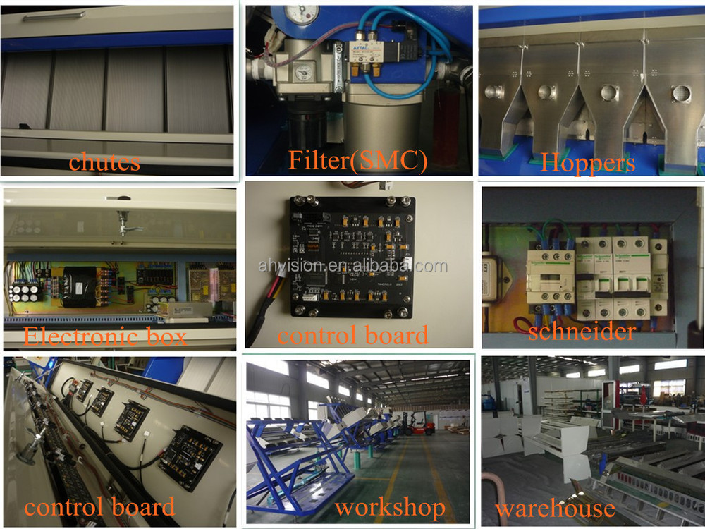 VSEE Brand 5000+pixel with patented ejector Machines for sale! mung beans processing machines made in china