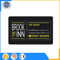 Low cost custom make CMYK color printable shopping smart card