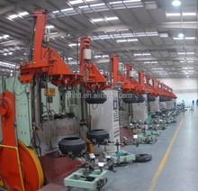 pneumatic tyre tire buffing machinery/tyre retreading machinery/waste tyre recycling