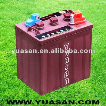 6V225AH Lead Acid Deep Cycle Golf Cart Battery -T105