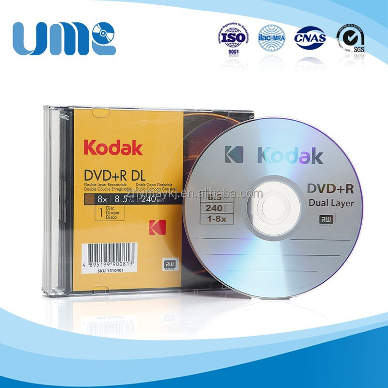 KODAK hot selling movies <strong>dvd</strong> 2017 <strong>DVD</strong>+<strong>R</strong> DL 8.5GB