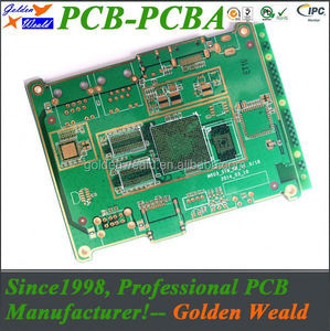 turnkey service fast and cheaper pcb prototype oem severive 6 layer pcb/pcba assembly manufacturer
