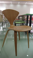 Modern commercial furniture bentwood beauty slim design restaurant chair(FOH-CXSC09)