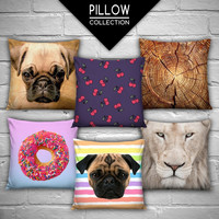 high quality new design 3d digital printed pillowcases fullprint decorative throw pillow covers seat cushion Cover