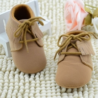 MS60440K hot sale soft sole new arrival 2016 baby girl tassels shoes