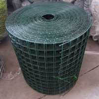 PVC coated wire/welded rabbit cage wire mesh/heavy gauge welded wire mesh
