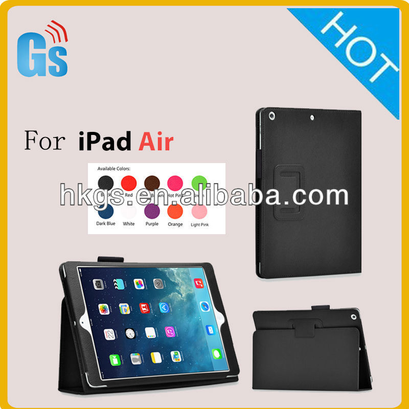 Luxury Leather Smart Case Stand Flip Cover for Ipad air 5