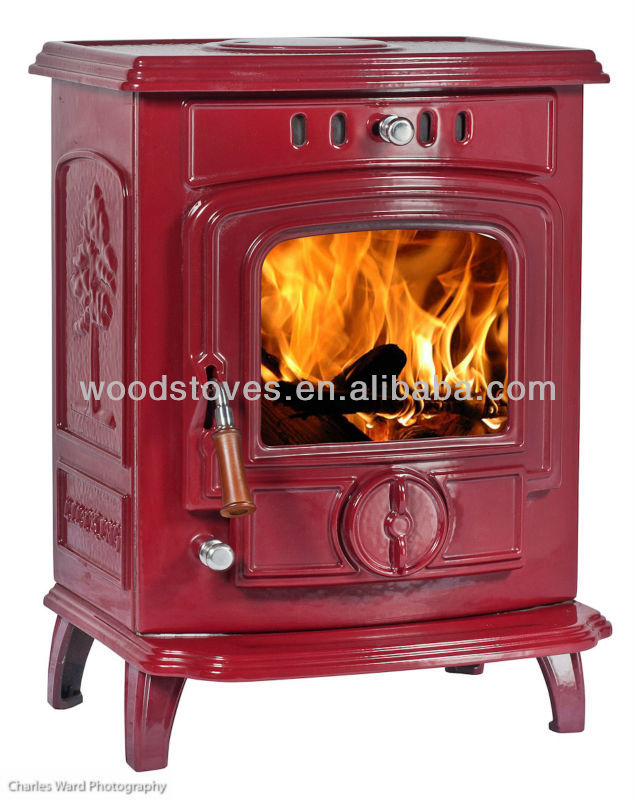 water jacket wood stove, cast iron stove, wood burning stove
