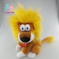 wholesale oem voice recording customized lion stuffed animal toys made in China