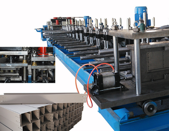 Ladder Type Cable Tray Roll Forming Machine/ Cable Tray Production Line