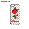 Vintage Handmade Leather Case with Embroidery Rose Flower PC Case for iphone8