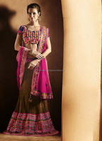 Indian bridal lehenga , Red bridal lehenga , Bridal lehegna exclusive wear R5315