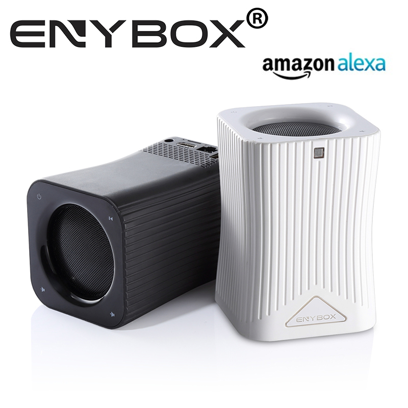 Video watching and Audio Listening Devices amazon alexa voice control enabled WIFI Hifi Bluetooth Speakers andriod tv box