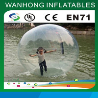 Giant outdoor inflatable water ball