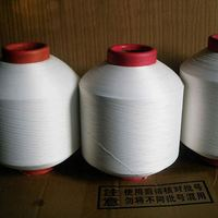 2015 New Product Spandex Covered polyester yarn By woven