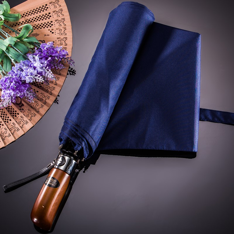 Premium Quality Umbrellas Unisex Large Automatic Folding Umbrella Men&Women BLACK BLUE