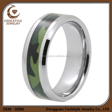 Tungsten wedding rings camouflage durable hunters rings camo wedding ring