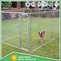 4x4x1.83m Large outdoor chain link dog kennels & dog cages & dog runs dog fence