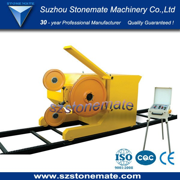 professional rock block wire saw machine