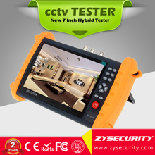 New and Hot 7 Inch Touch Screen tester , Onvif AHD IP CVBS 3in1 Hybrid Tester,Monitor PTZ UTP CCTV tester