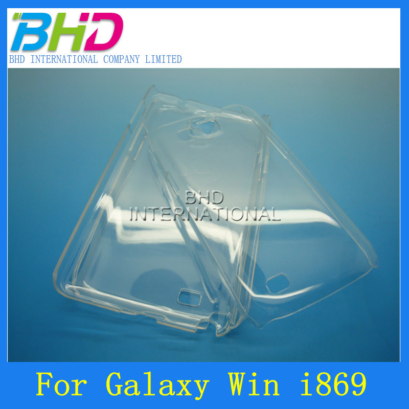 ultra thin clear hard case for samsung galaxy win i869