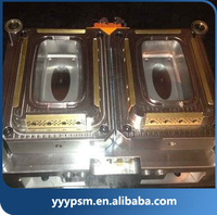 abs plastic raw material injection mould for thin wall box