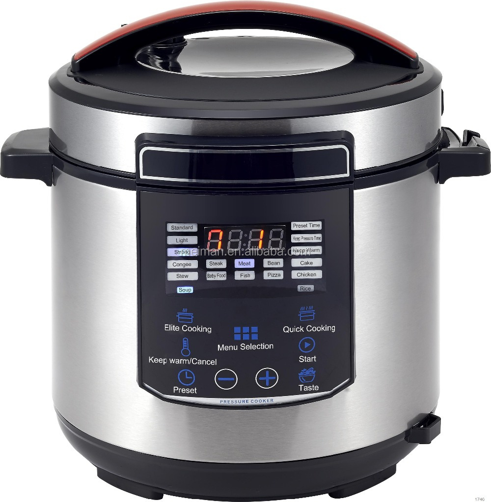 2015 new deluxe multipurpose pressure cooker with keep pressure function CR-21