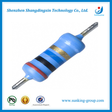 RoHs Free High Range 1/4W Color Code Resistor