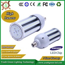 5 Years Warranty high lumens CRI led light garden spot lights outdoor ip54 led corn light made in China good price